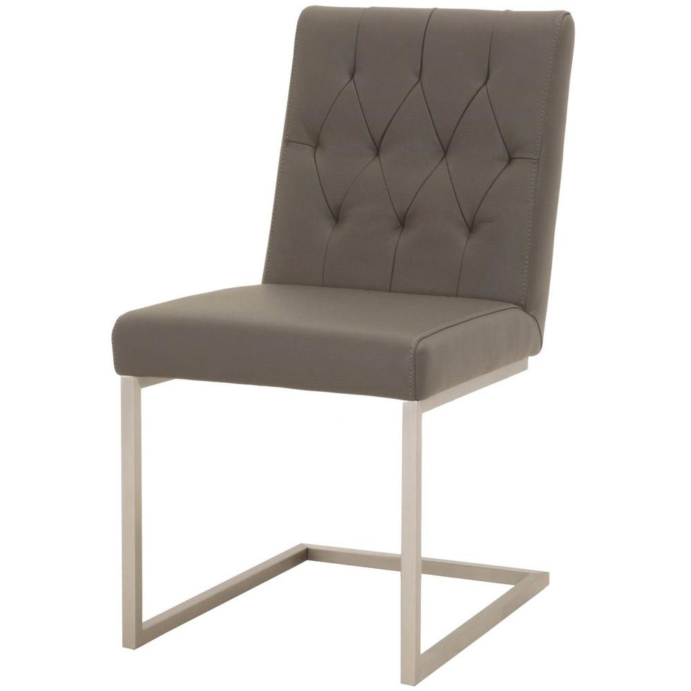 Jesper Top Grain Leather Dining Chair Set Of 2 Zuri