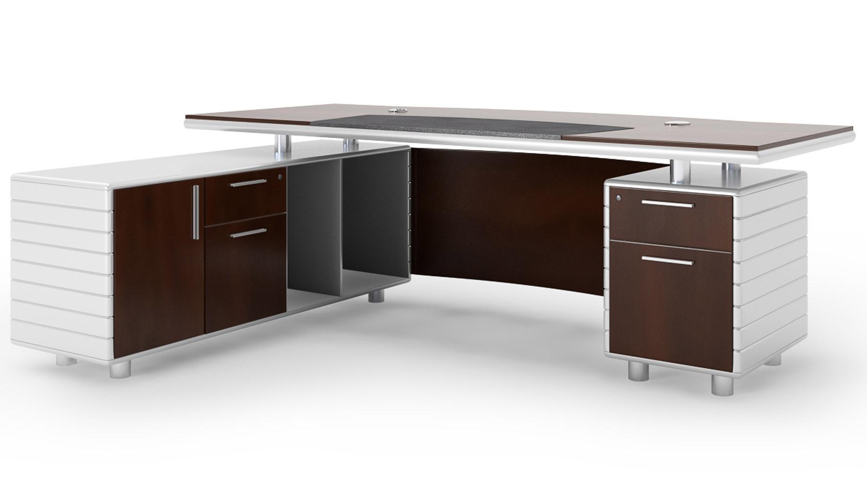 Kennedy Desk With Return