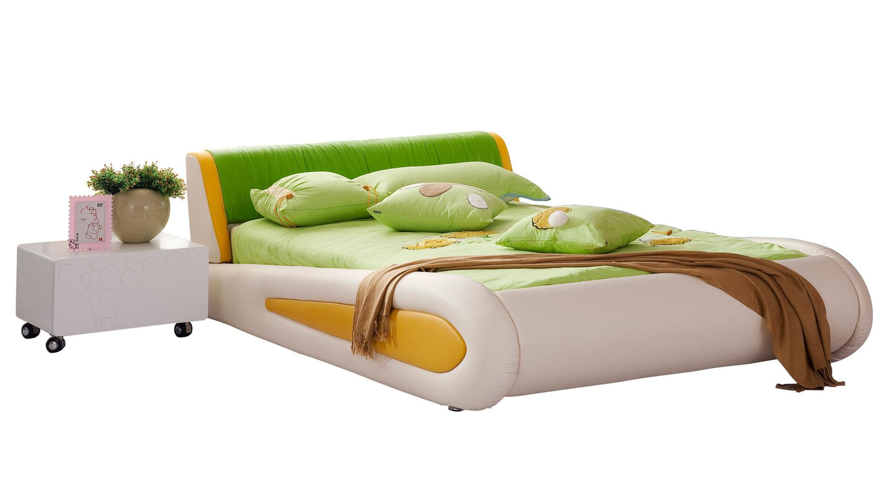 Green Leather Kermit Kids Frog Bed Zuri Furniture : kermitgreenleatherkidsfrogbed 2 from www.zurifurniture.com size 1778 x 1000 jpeg 182kB