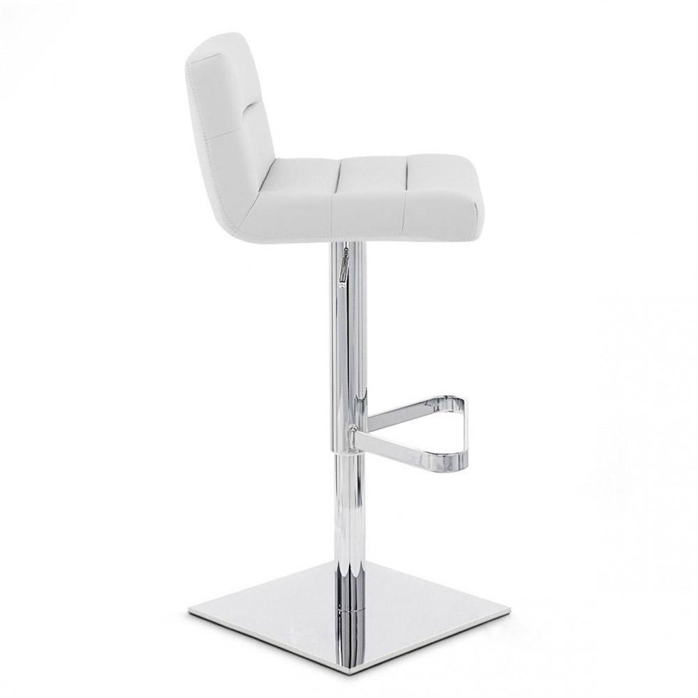 lattice bar stool square base