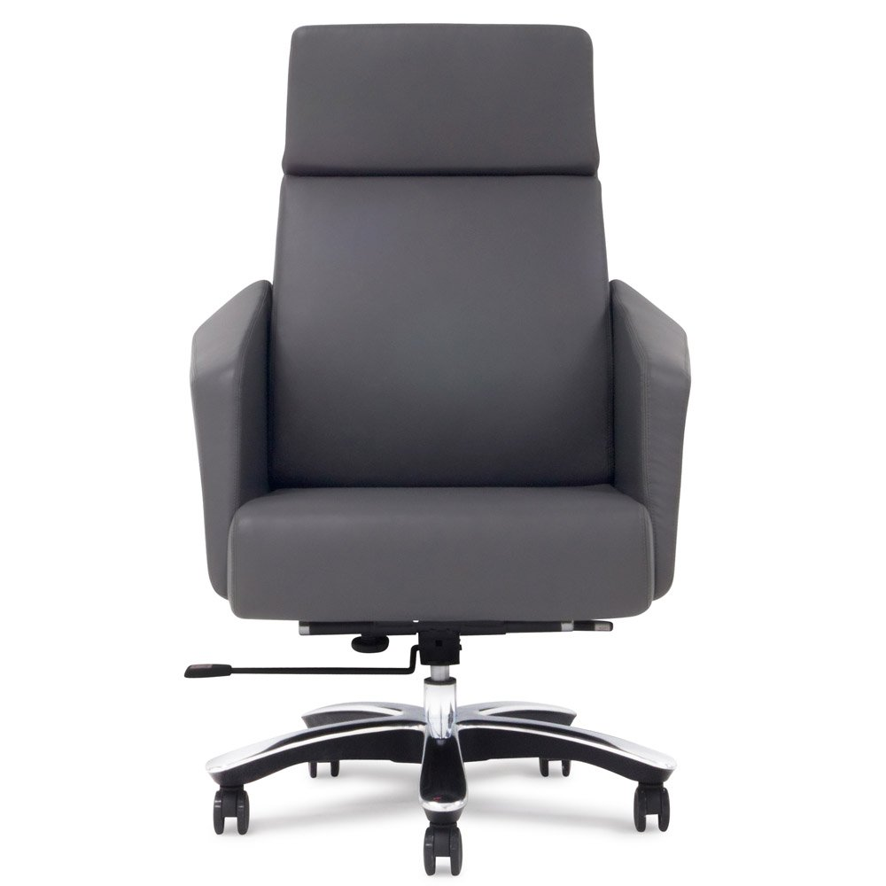 Outstanding Lauren Leather Executive Chair Dark Grey Gmtry Best Dining Table And Chair Ideas Images Gmtryco