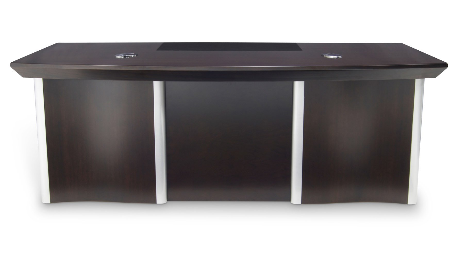 lincoln executive dark wood desk with rolling return and file  - lincoln executive dark wood desk with rolling return and file cabinet zuri furniture