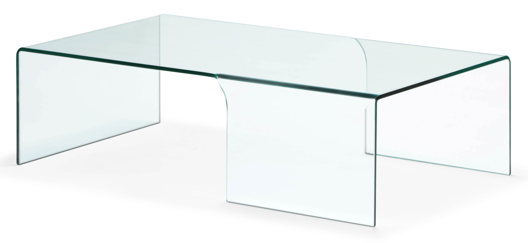 Lisa tempered glass coffee table clear glass zuri for Tempered glass coffee table