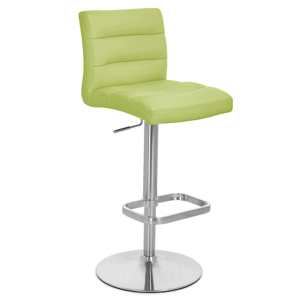 Lime Green Lush Bar Stool