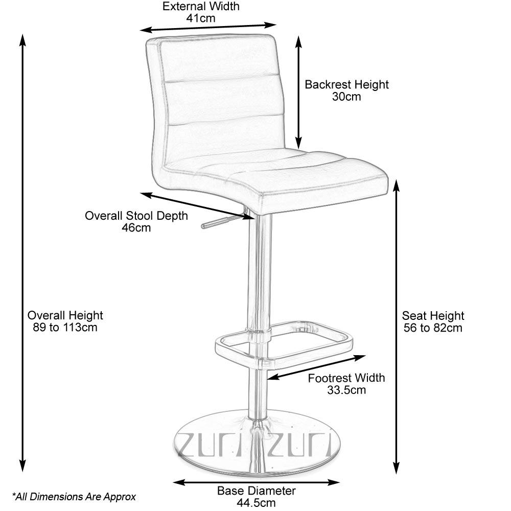 Lush Bar Stool Zuri Furniture : lushdimensions from www.zurifurniture.com size 1000 x 1000 jpeg 57kB