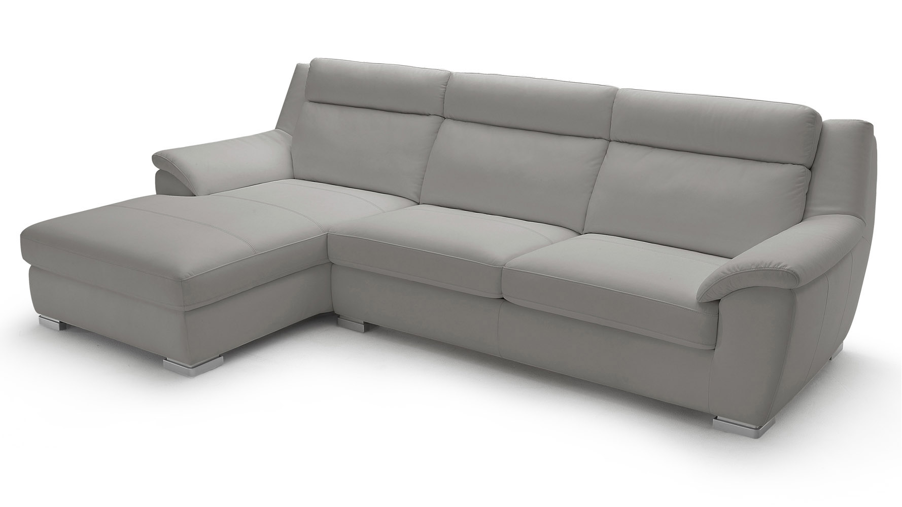 lounge light chaise leather with sleeper grey top sectional sofa manor grain