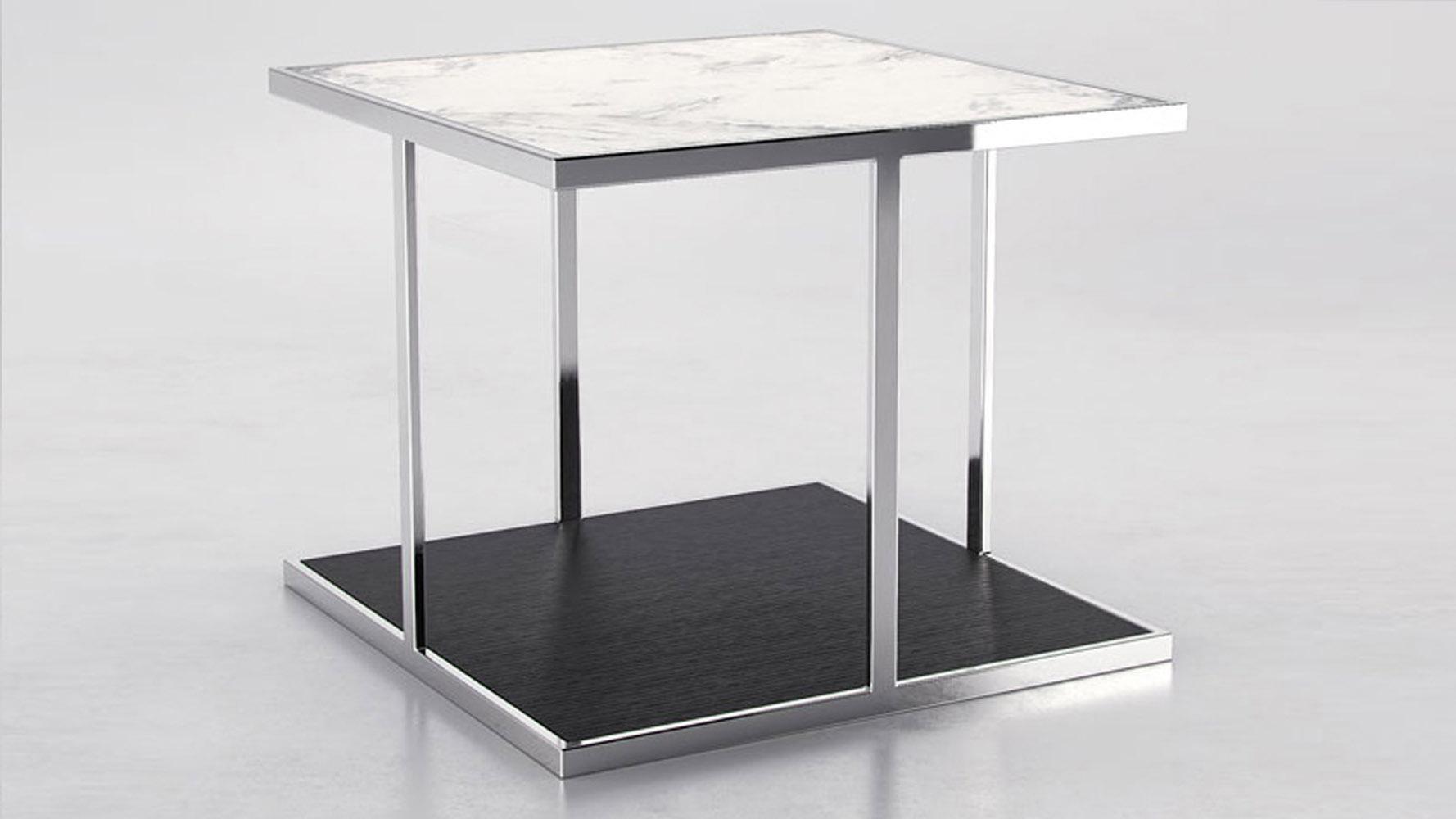 marble oliver side table zuri furniture. Black Bedroom Furniture Sets. Home Design Ideas