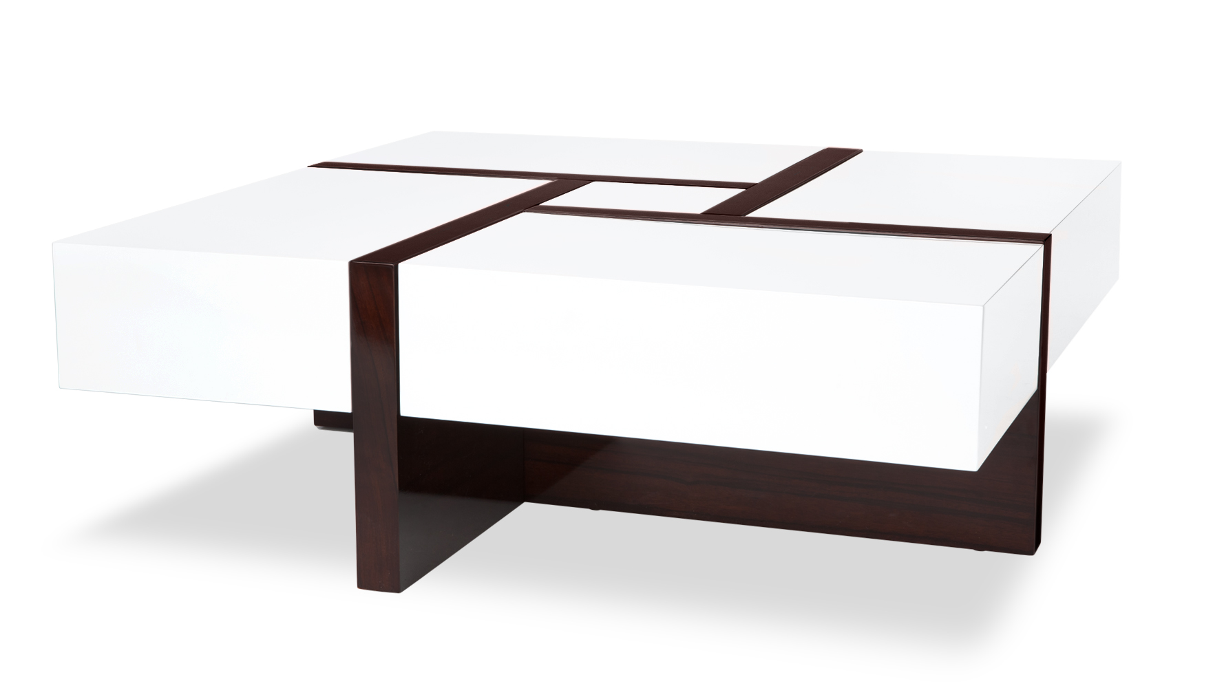 Mcintosh high gloss coffee table with storage white square add reviews to your site geotapseo Image collections