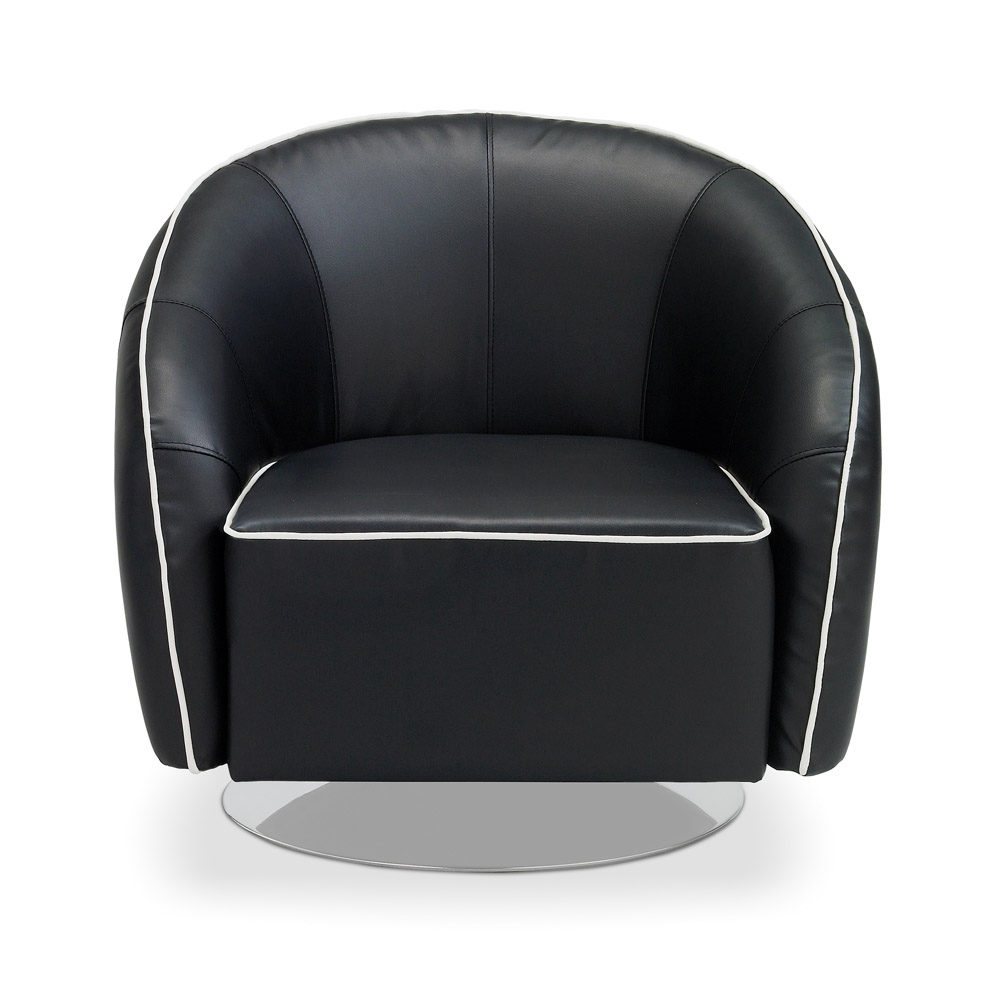 Michael Swivel Chair - Modern Accent Chairs & Lounge Chairs : Contemporary Living Room