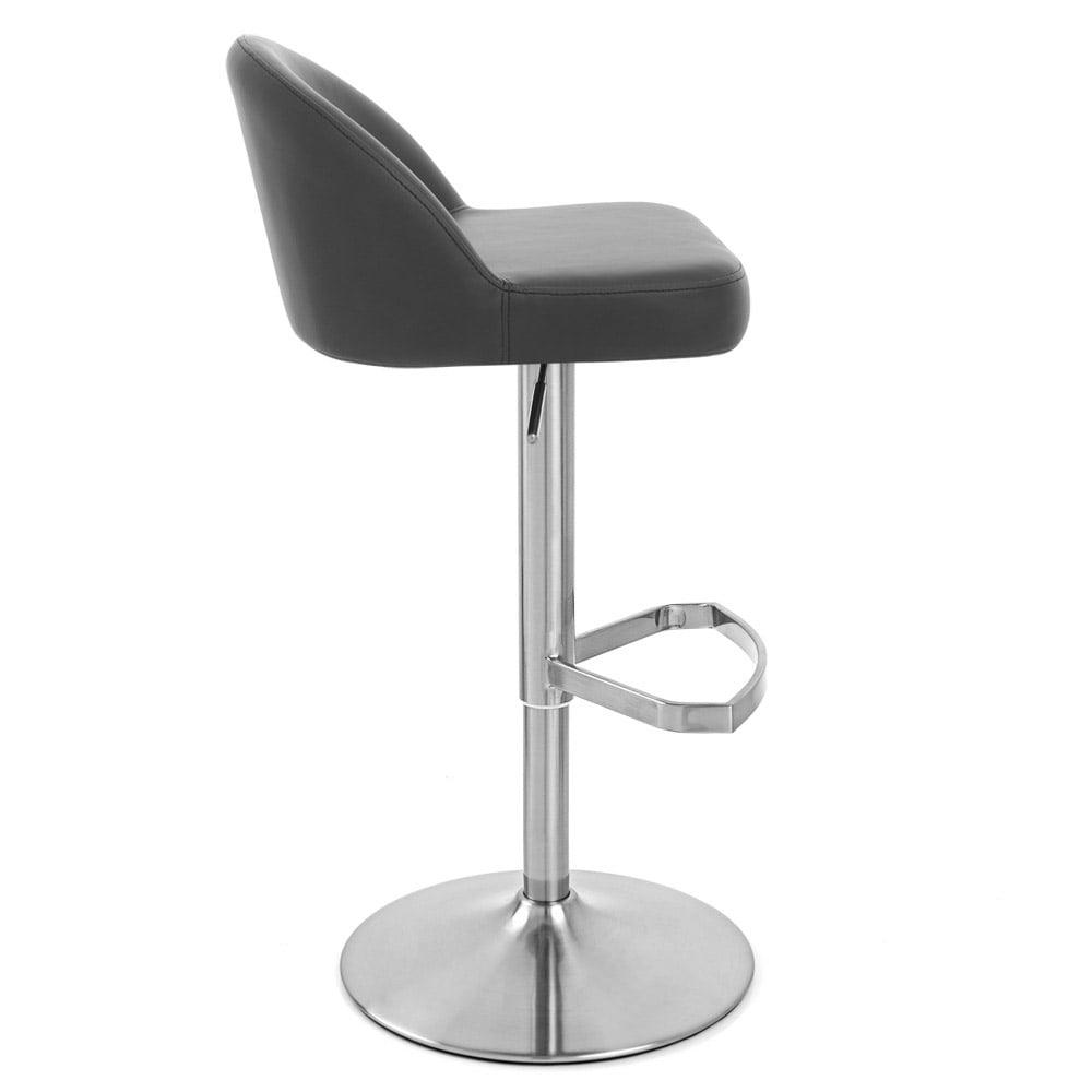Mimi Bar Stool  sc 1 st  Zuri Furniture & Mimi Adjustable Height Swivel Armless Bar Stool | Zuri Furniture islam-shia.org