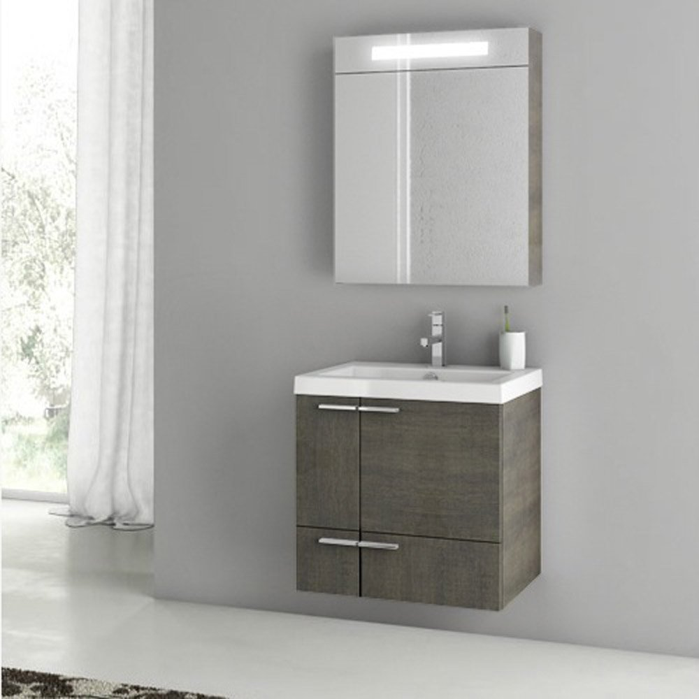 Home / BATH / Bathroom Vanities / New Space 23 Inch Vanity Set with
