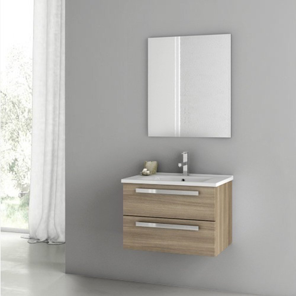 Modern 24 Inch Dadila Vanity Set With Ceramic Sink