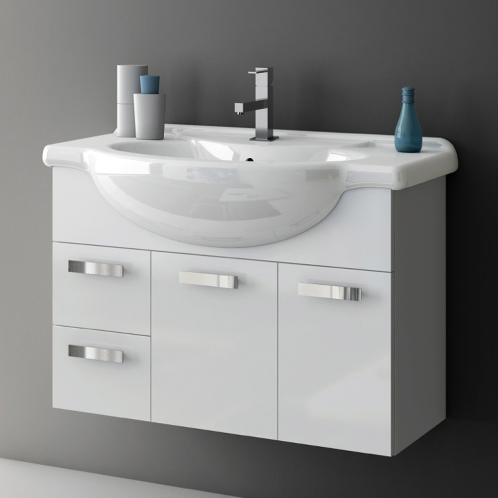 Modern 32 inch phinex vanity set with ceramic sink - Bathroom vanities 32 inches wide ...