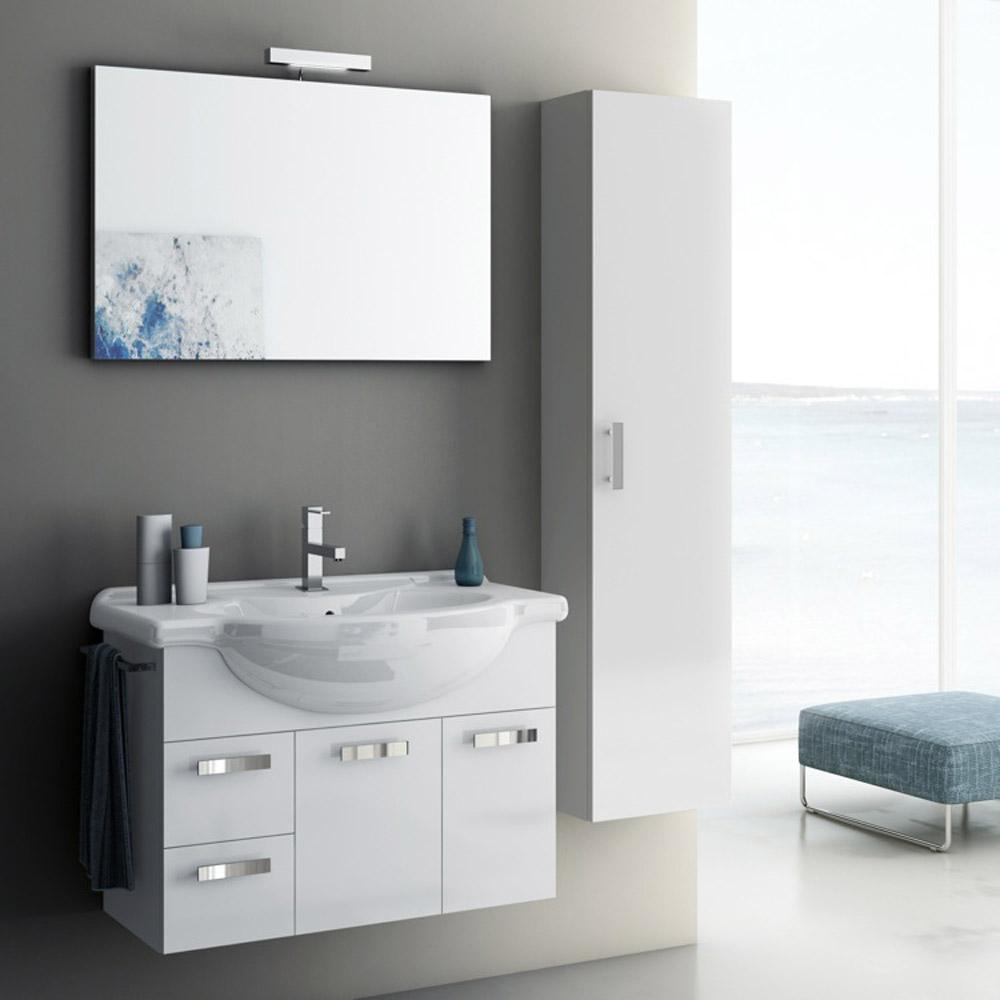 Modern 32 inch Phinex Vanity Set with Storage Cabinet ...