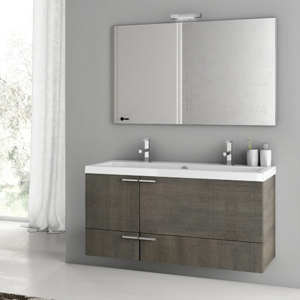 Modern 47 Inch Bathroom Vanity Set With Ceramic Sink Larch Canapa Zuri Fu