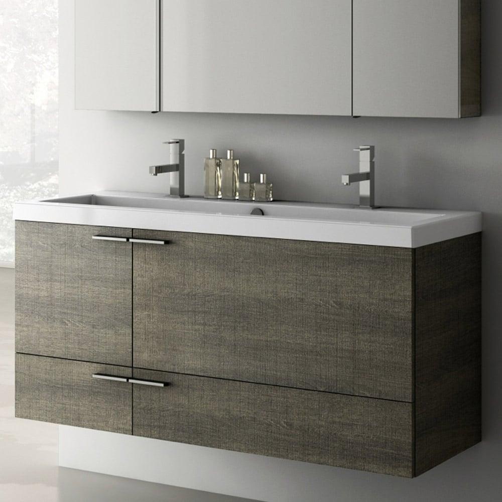 Modern 47 Inch Bathroom Vanity Set With