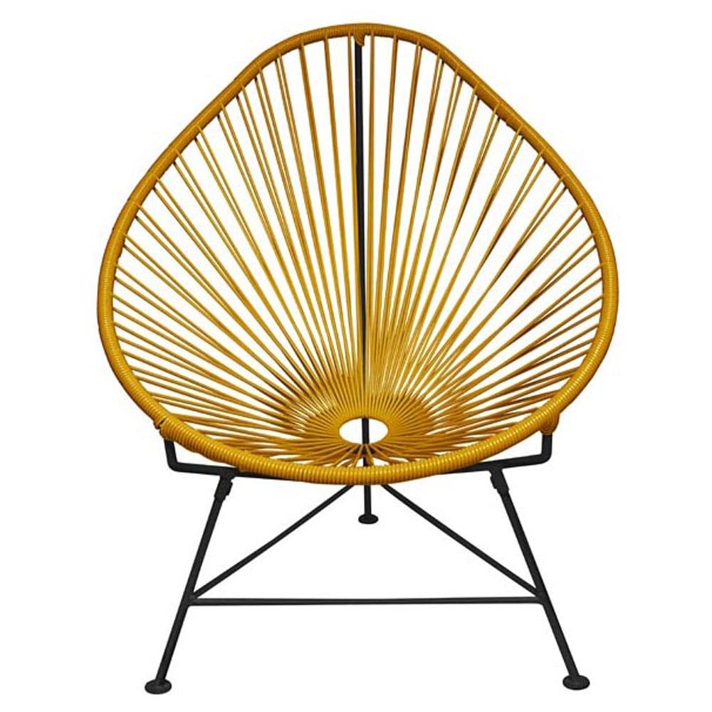 Astounding Acapulco Chair Black Frame Spiritservingveterans Wood Chair Design Ideas Spiritservingveteransorg