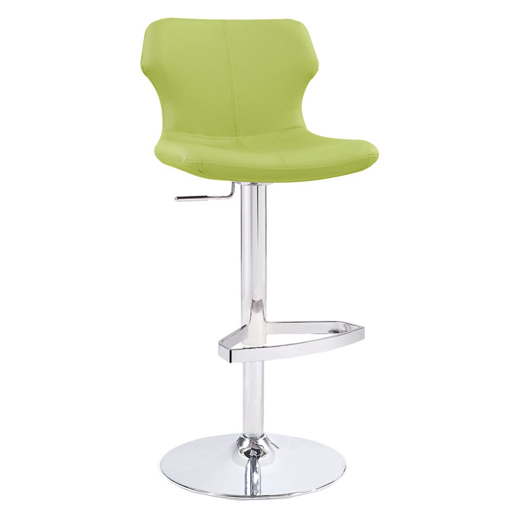 Lime green bar stool at zuri furniture