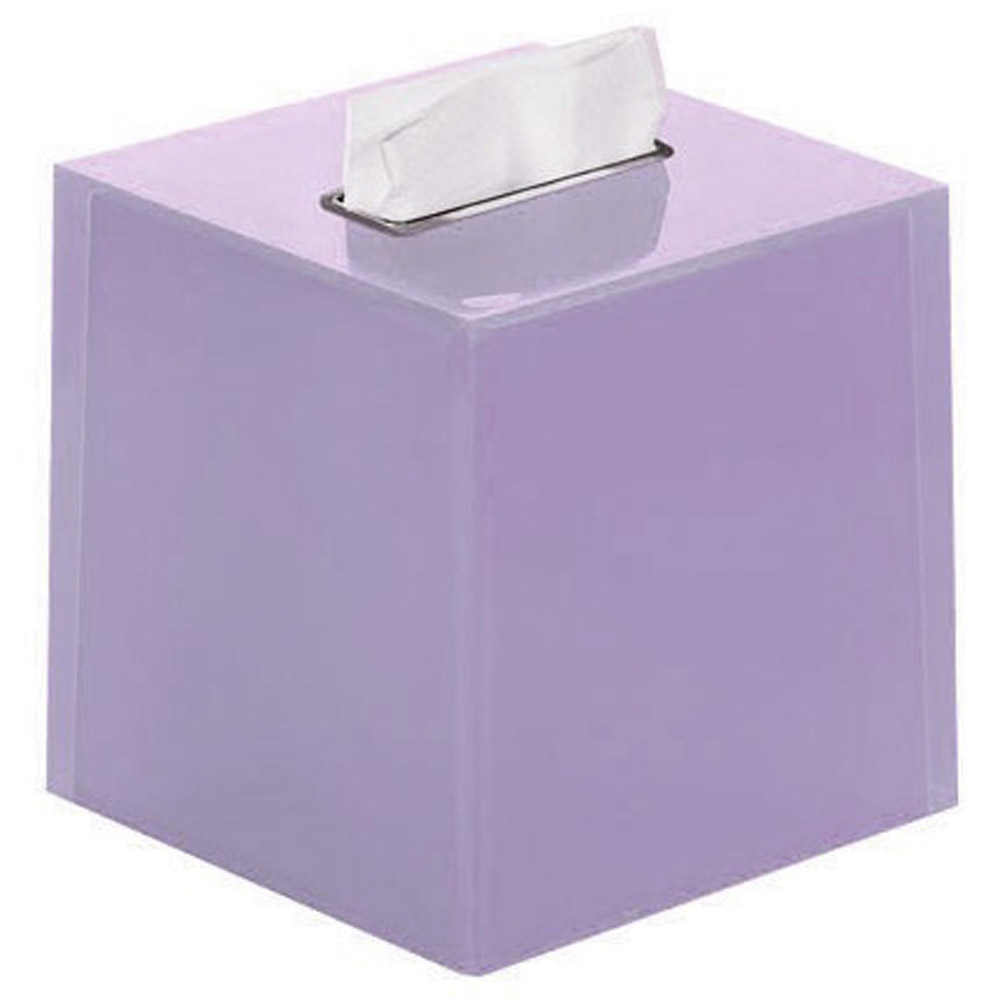 Rainbow bathroom accessories - Rainbow Tissue Box Cover Tall