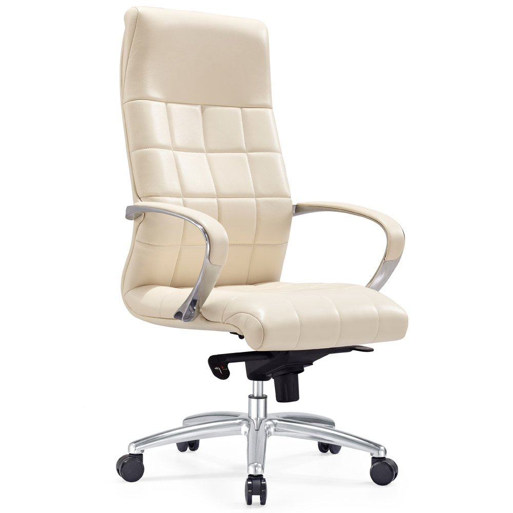 Modern ergonomic office chairs - Grant Leather Executive Chair