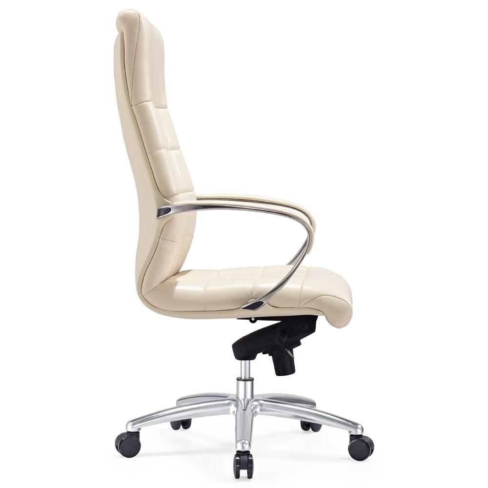 Fabulous Modern Ergonomic Grant Leather Executive Chair with Aluminum Base  RI49