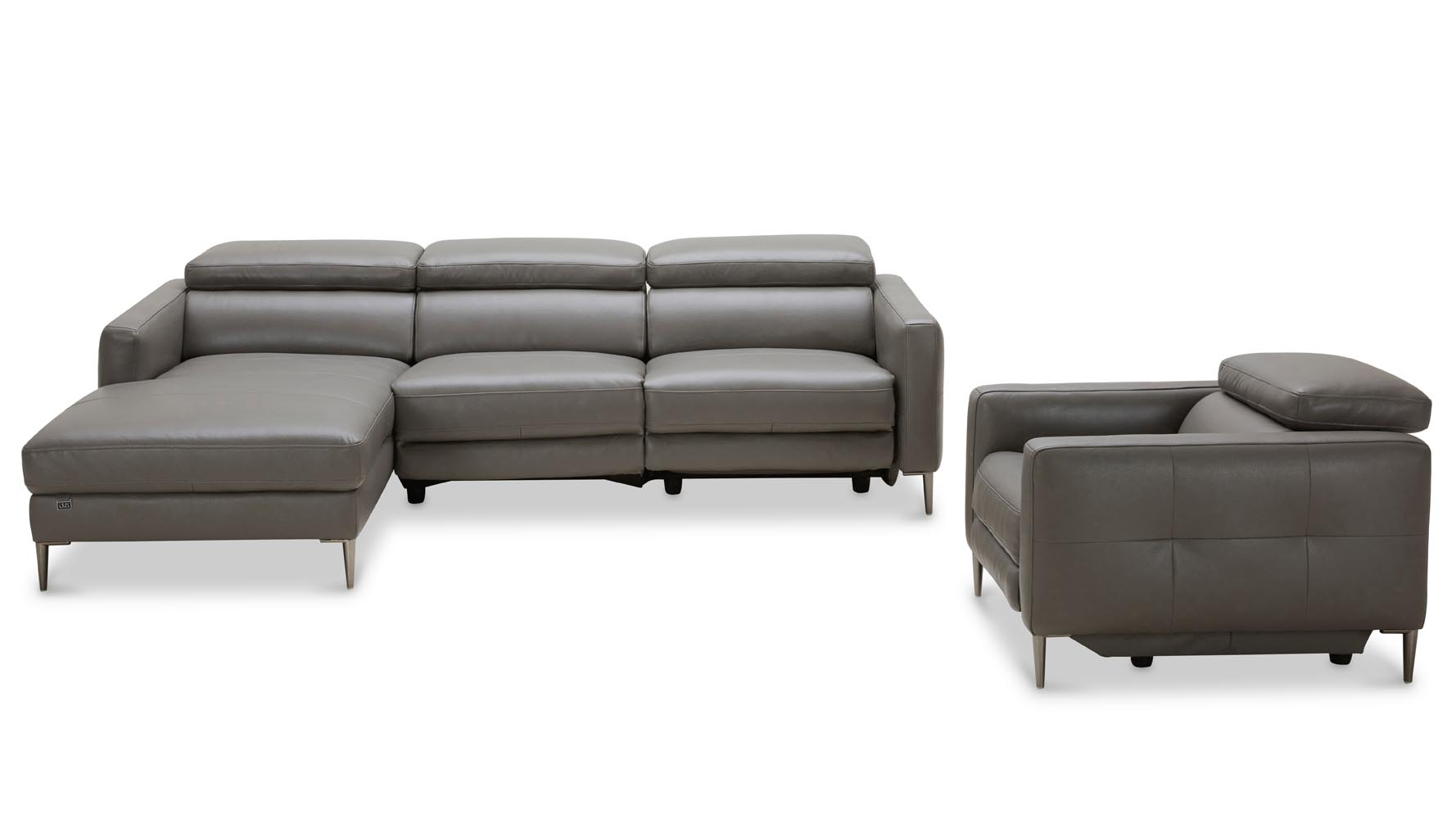 Modern Reclining Sectional Full Size Of Sofaswonderful