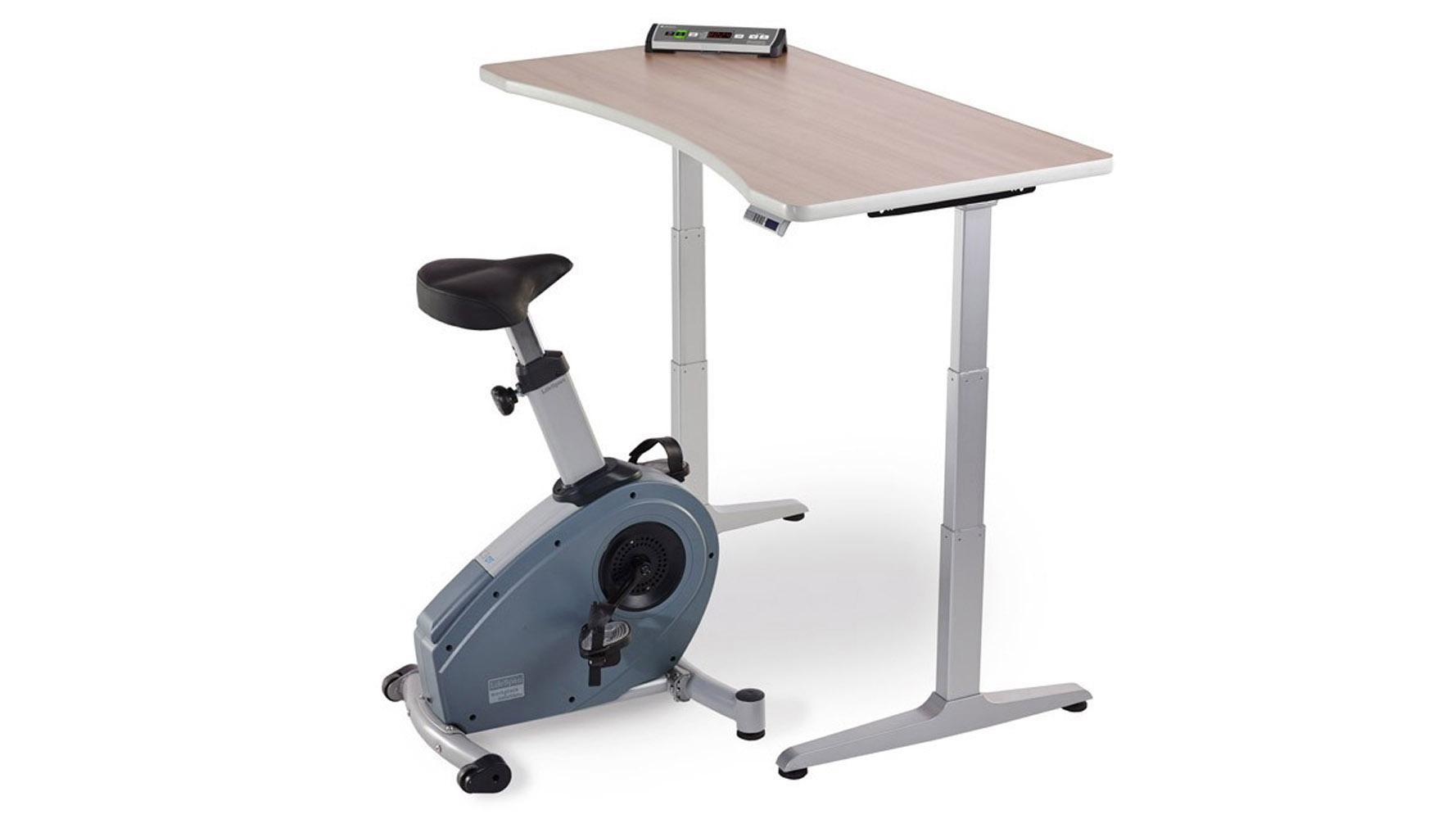 Modern Lifespan Under Desk Bike Zuri Furniture