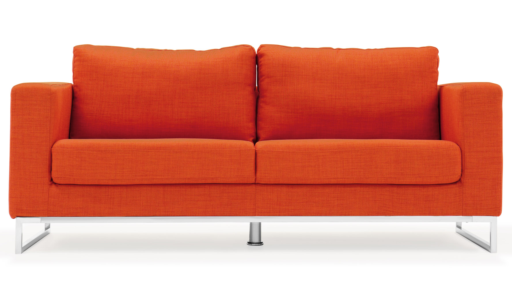 Orange sofa set por orange sofa sets lots from thesofa for Modern loveseat