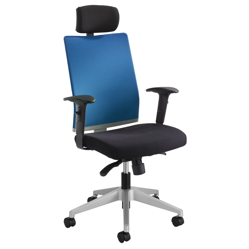 Tez Manager Chair With Headrest Zuri Furniture