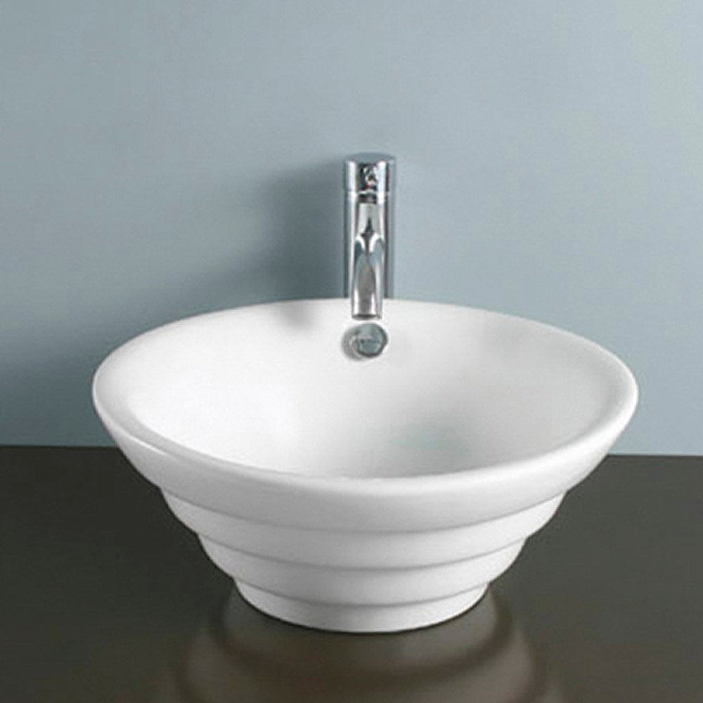 china bathroom sinks modern vitreous china white albern vessel bathroom sink 12314