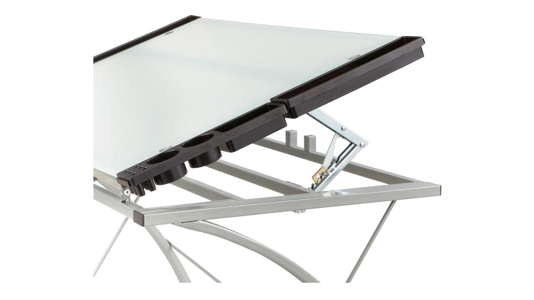 Home office home office xpressions glass top drafting table