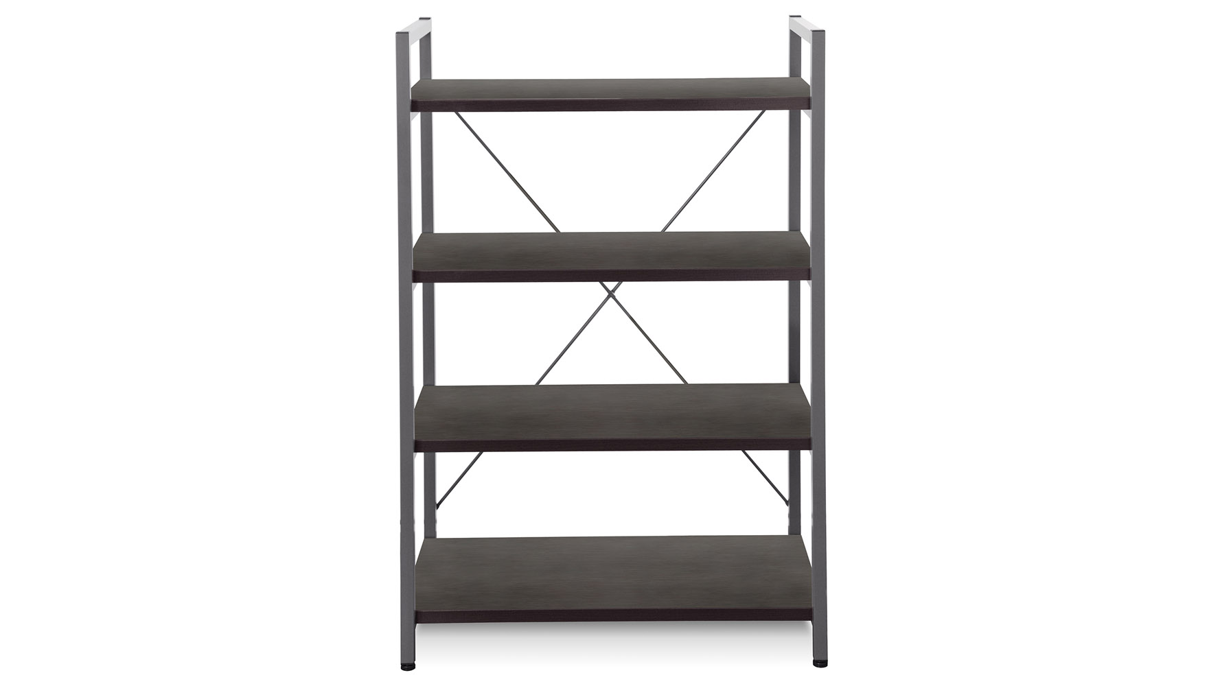 Daly Metal Frame Bookcase
