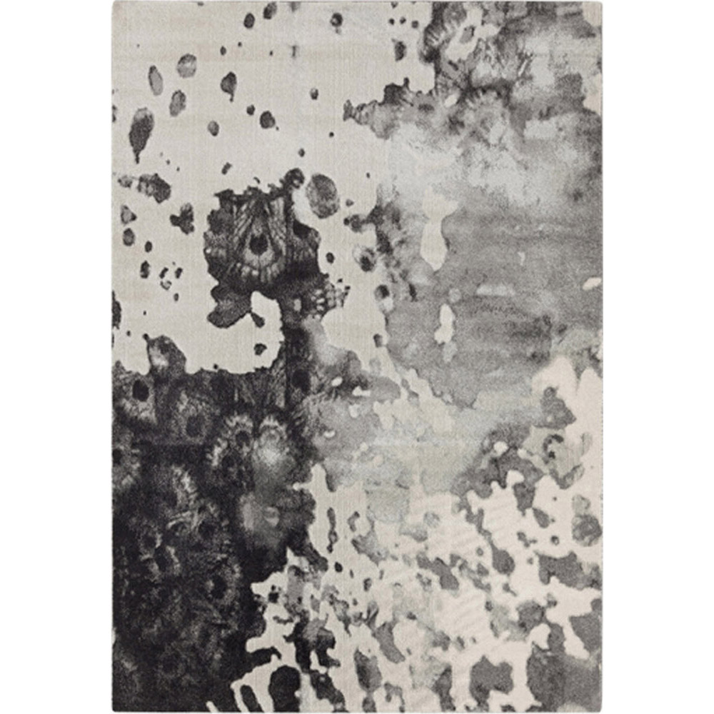 Rorschach Rug - Charcoal
