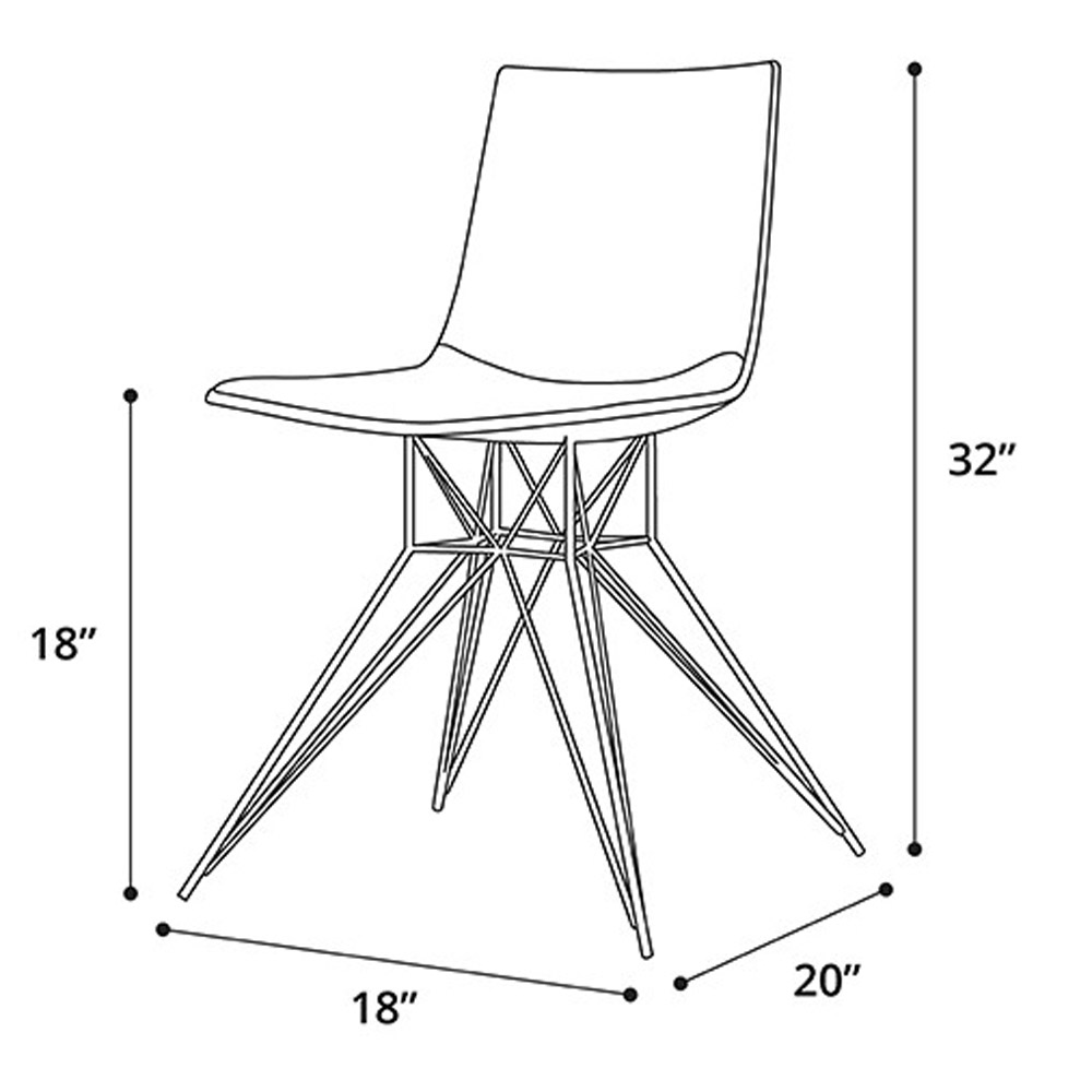 Dimensions of a dining