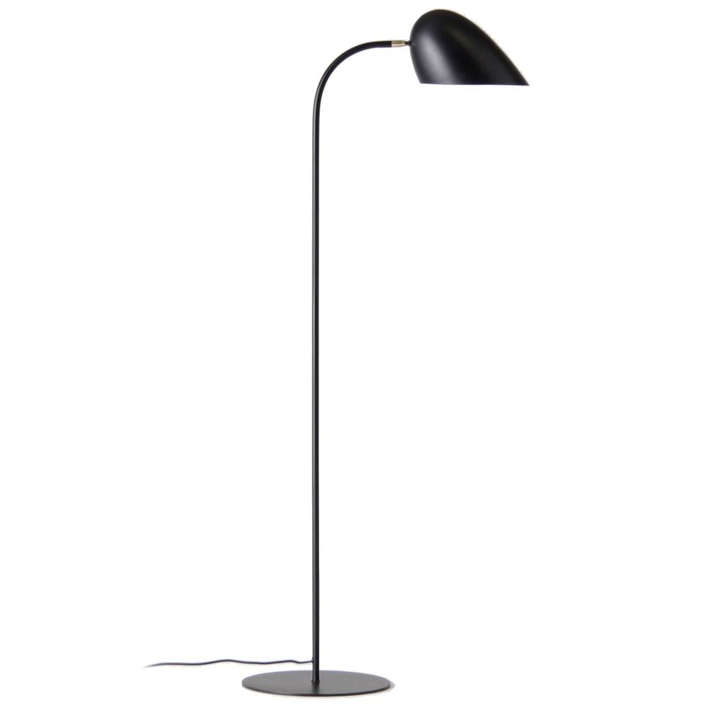 Modern Aled Floor Lamp Black Zuri Furniture