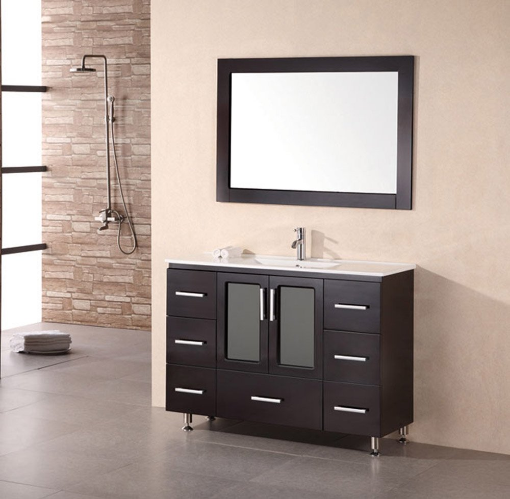 Alexander 48 Quot Single Sink Vanity Set Zuri Furniture