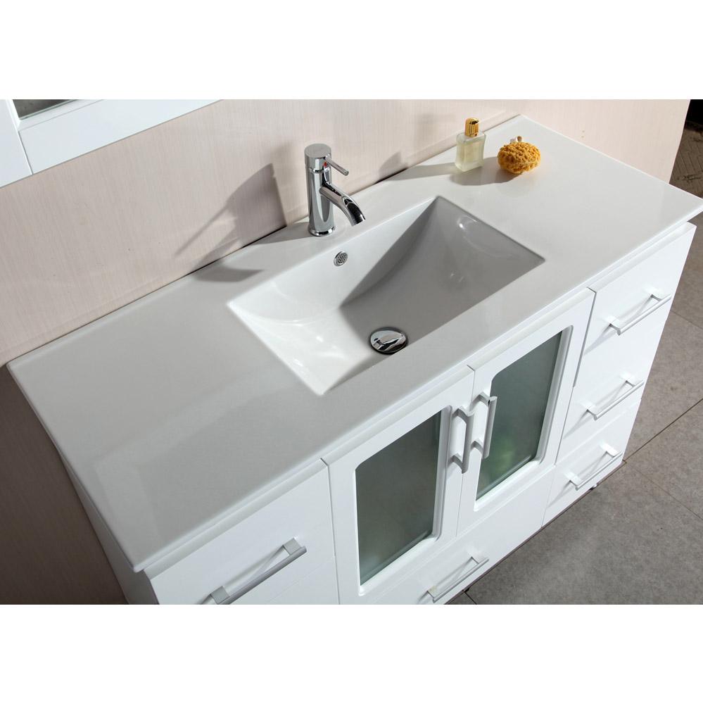Alexander 48 Single Sink Vanity Set Zuri Furniture