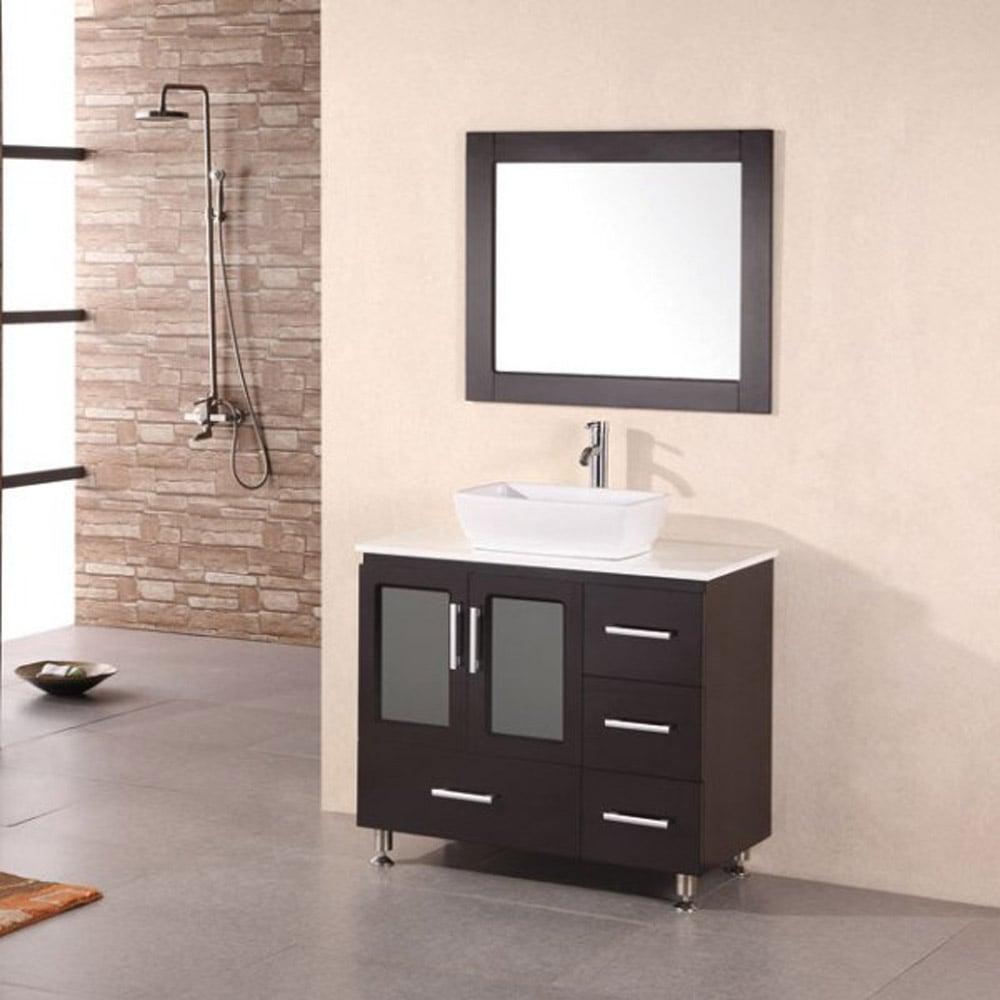 home bath bathroom vanities alexia 36 single sink vanity set