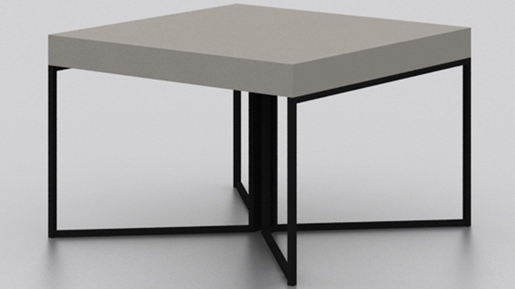 Modern allana coffee table high gloss avorio finish - How high is a coffee table ...