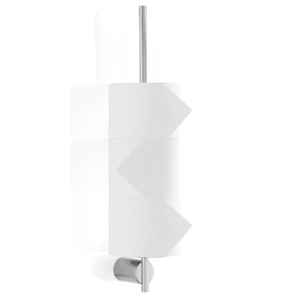 Blomus Duo Wall Mounted Toilet Paper Holder Zuri Furniture