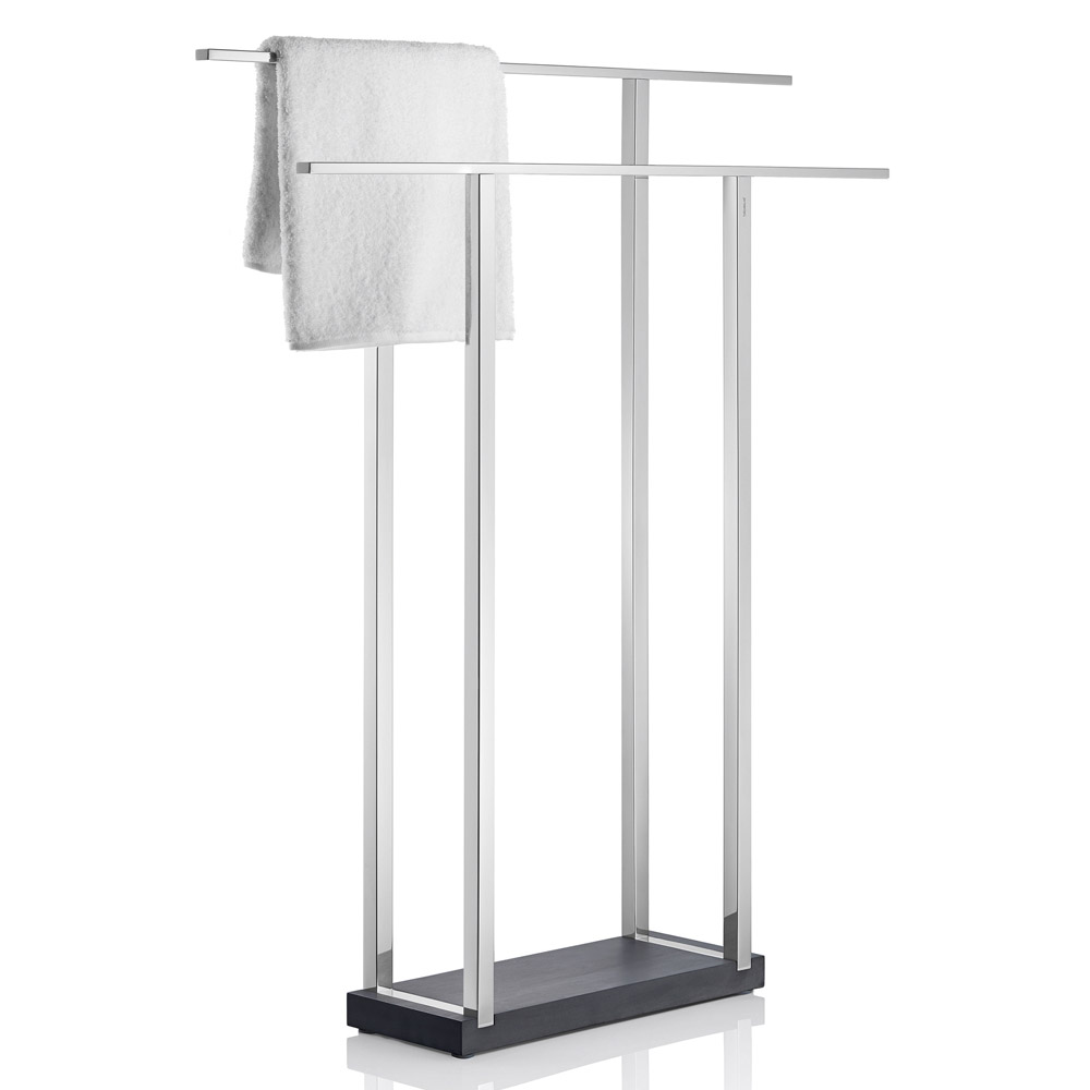 blomus menoto towel rack wide zuri furniture. Black Bedroom Furniture Sets. Home Design Ideas