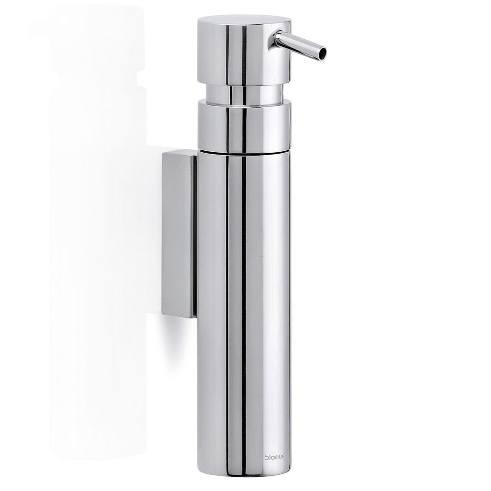 Blomus nexio wall mounted soap dispenser zuri furniture - Distributeur a savon mural ...