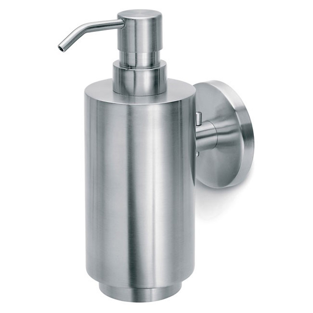Modern Bathroom Blomus Primo Wall Mounted Soap Dispenser Stainless Steel Zuri Furniture