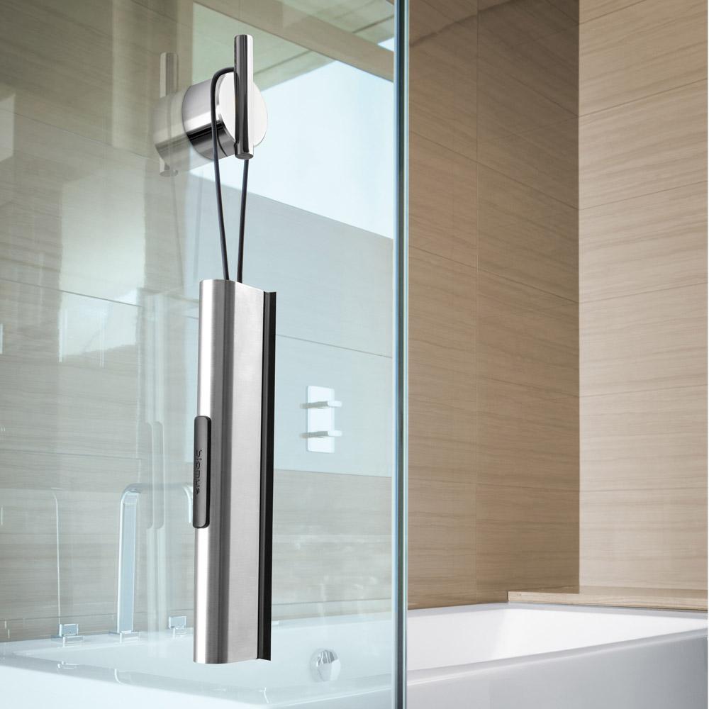 Modern Bathroom Blomus Vianto Shower Squeegee Stainless