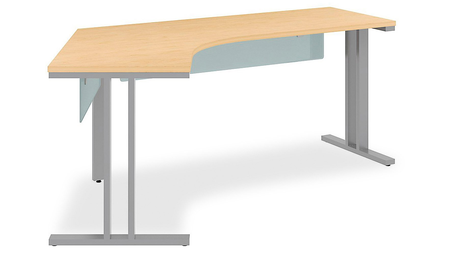 Momentum Dog Leg Left Desk