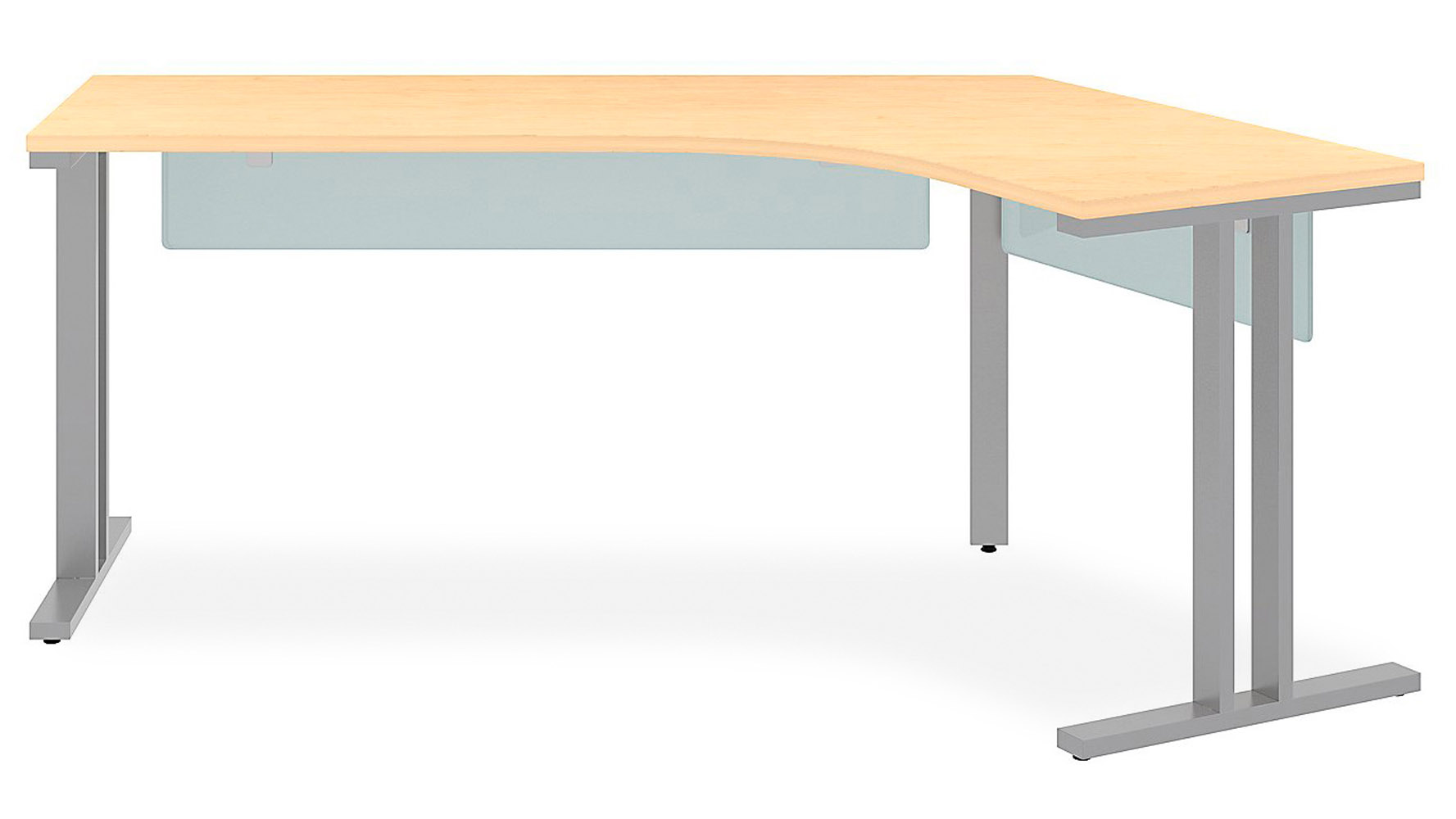 Momentum Dog Leg Right Desk