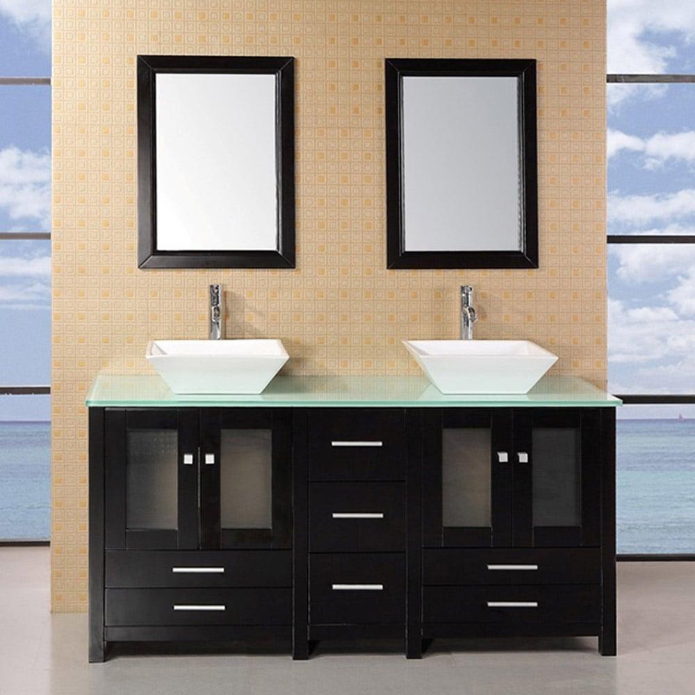 Bellona 61 Quot Double Sink Vanity Set Zuri Furniture