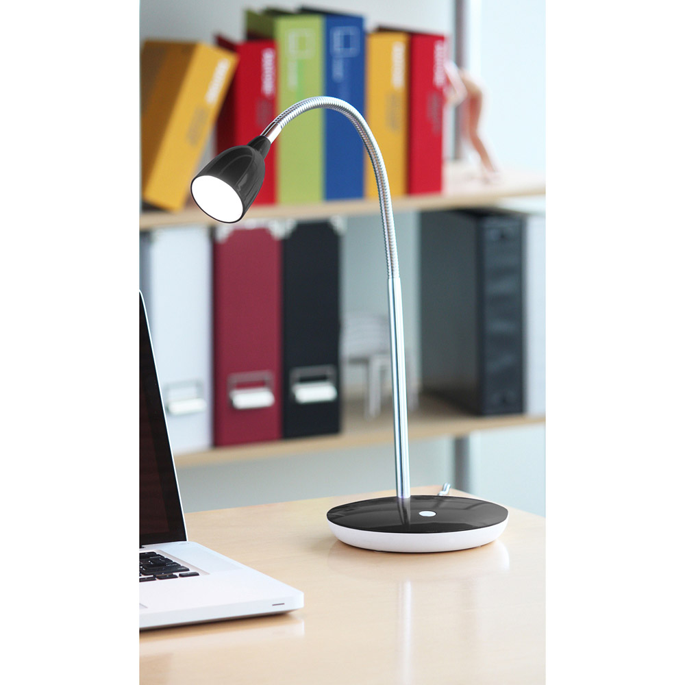 Pixar Black Led Lamp Zuri Furniture