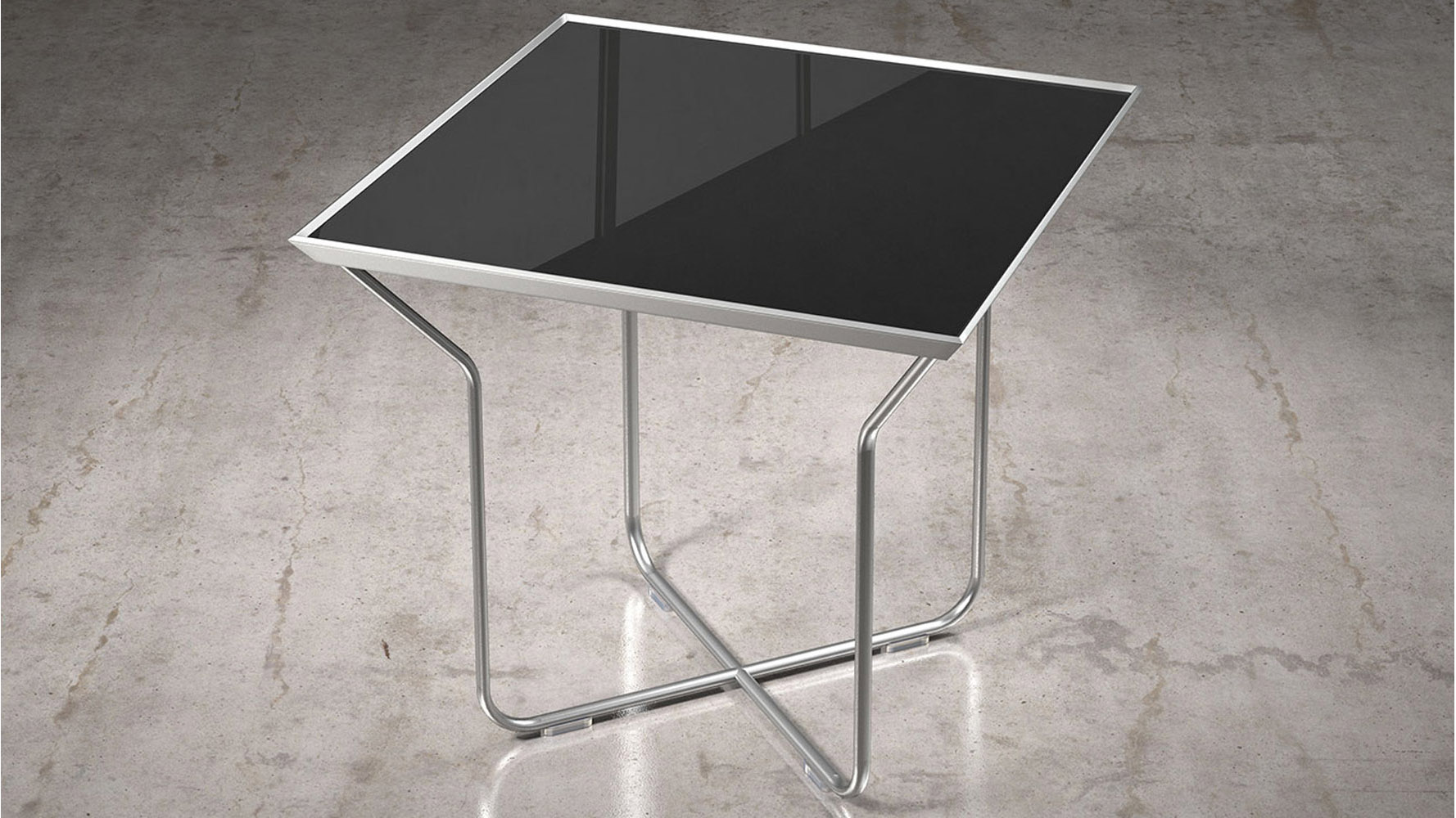 Black Glass Tables products in glass | acrylic,material - accent tables, accent
