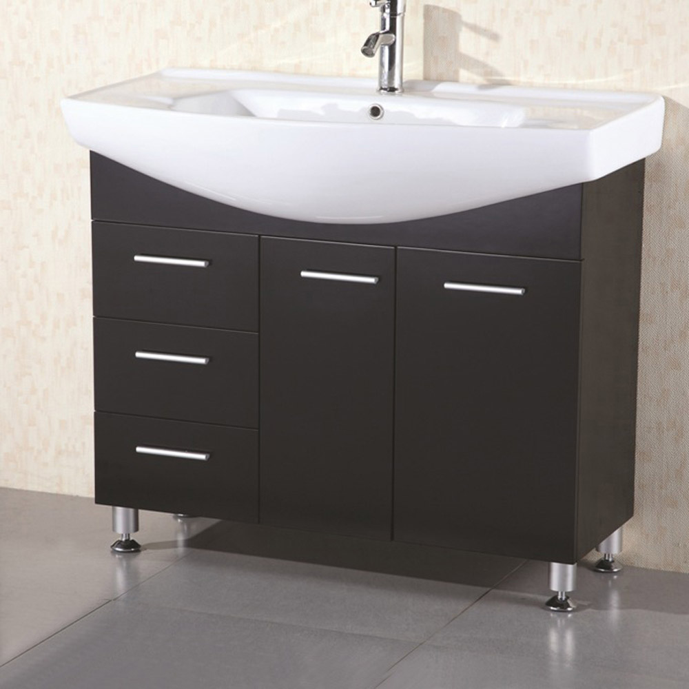 Cerina 40 Quot Single Sink Vanity Set Zuri Furniture